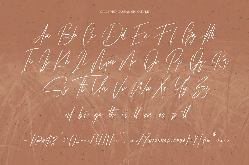 gillford-casual-signature-font