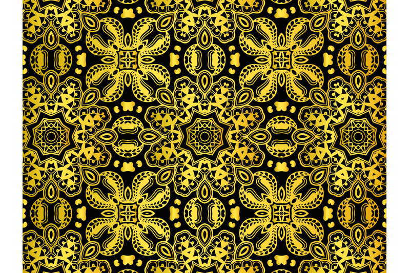 pattern-abstract-gold-color-design