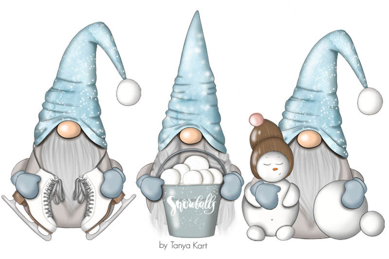 winter-nordic-gnomes-planner-icons