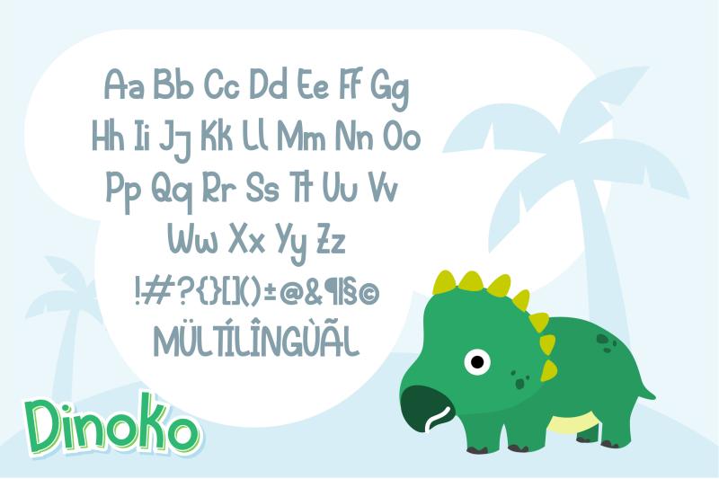 dinoko-font-duo