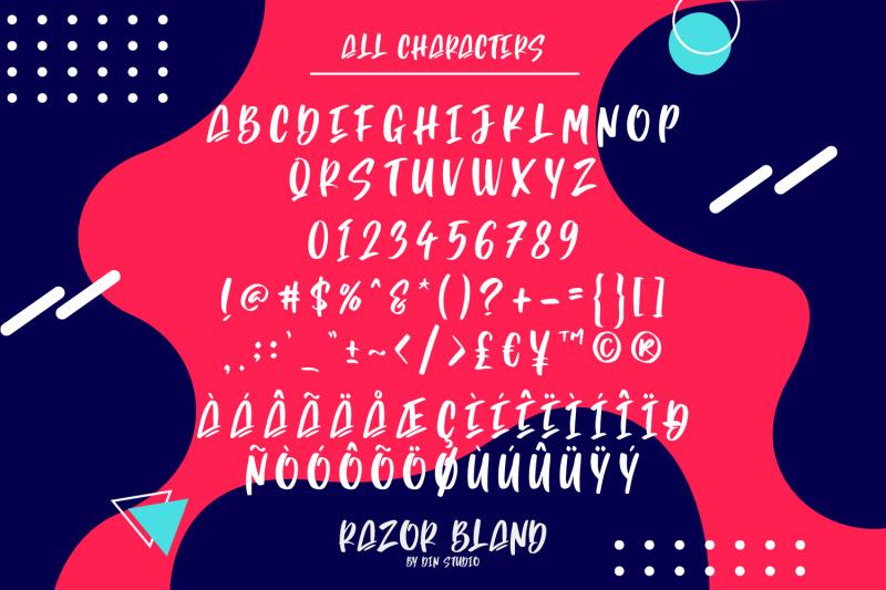 razor-bland-display-font