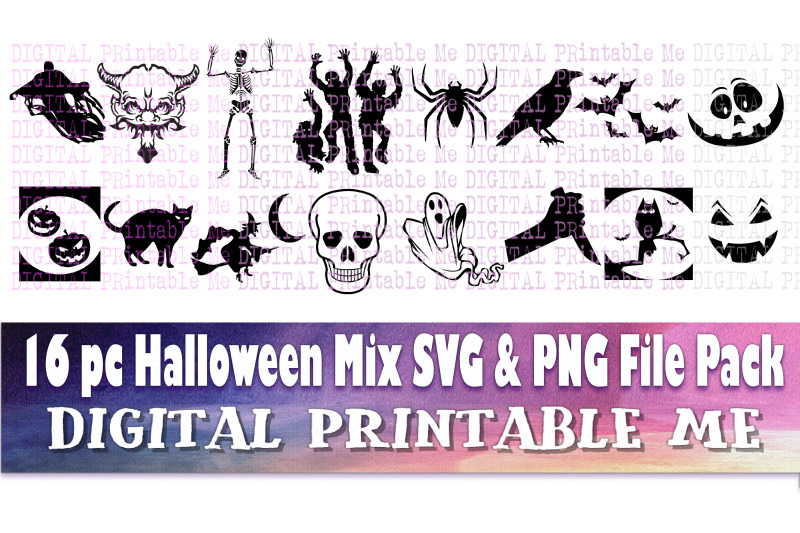 halloween-silhouette-clip-art-pack-svg-png-16-images-instant-do
