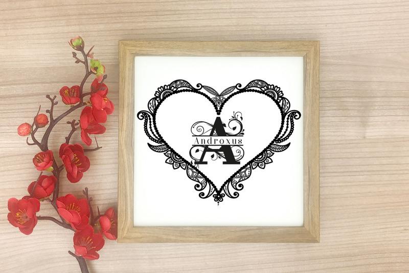 floral-heart-frames-svg-floral-frame-vector