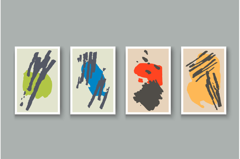 creative-minimalist-hand-painted-abstract-artistic-background-set