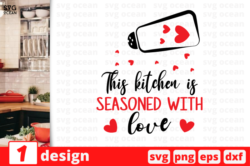 Download 1 This kitchen is seasoned with love, Kitchen quotes ...