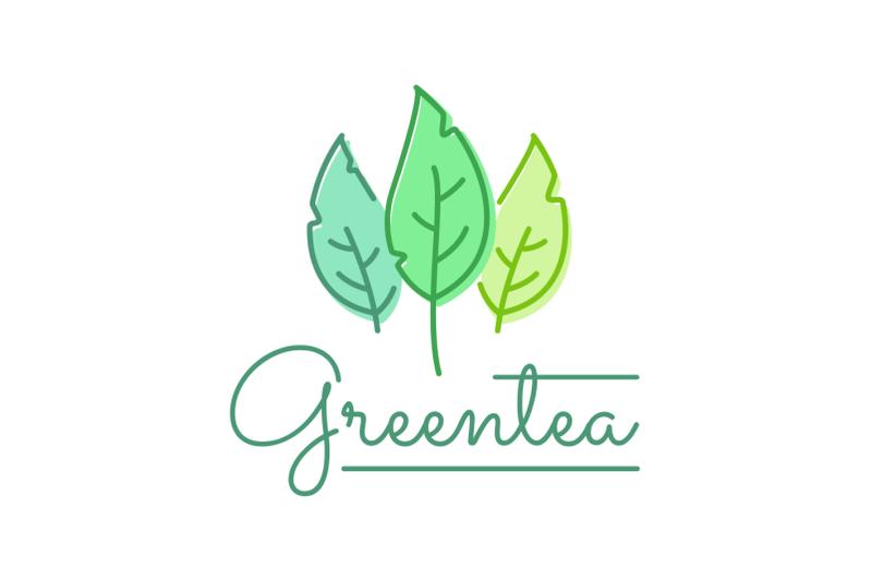 green-tea-logo-vector-template