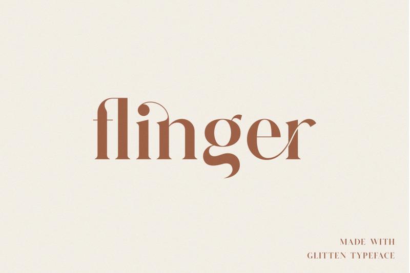 glitten-ligature-serif-font