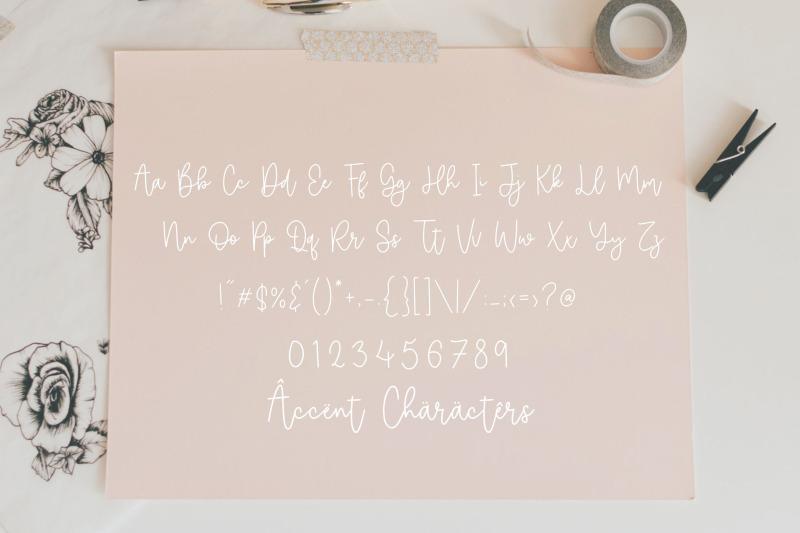 selimut-hati-modern-monoline-handwritten-font