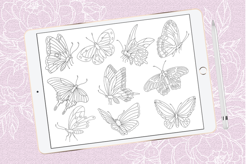 butterflies-brush-stamps-for-procreate