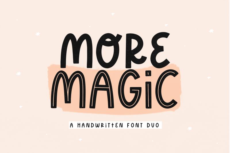 more-magic-modern-handwritten-font