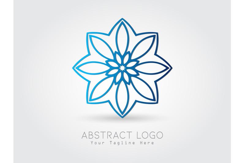 logo-abstract-gradation-blue