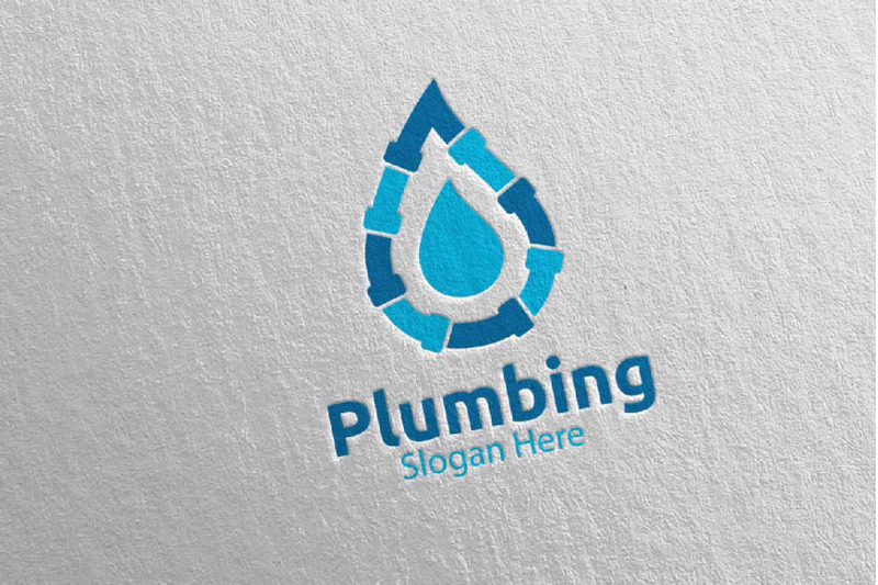plumbing-logo-with-water-and-fix-home-concept-13
