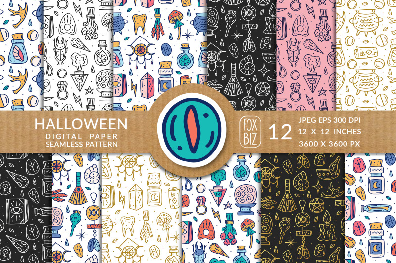 halloween-magic-digital-paper-seamless-pattern