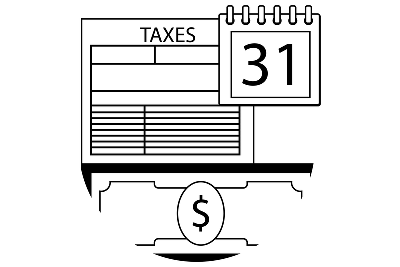 tax-pay-day-icon-line