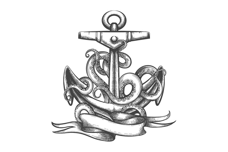 anchor-with-octopus-tentacles-and-ribbon-tattoo
