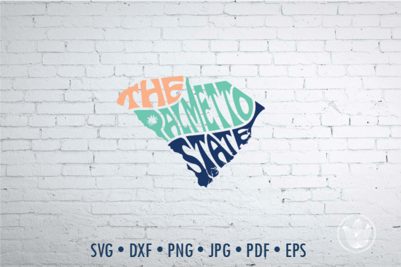 the-palmetto-state-word-art-south-carolina-svg-dxf-eps-png-jpg