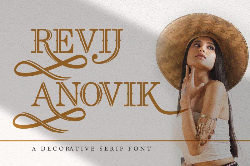 revij-anovik-decorative-serif-font
