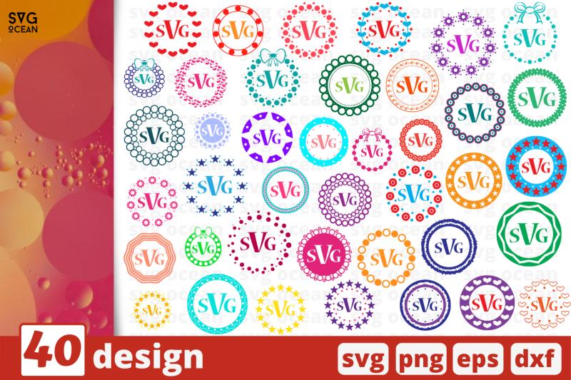 10-monogram-frames-circles-cricut-svg