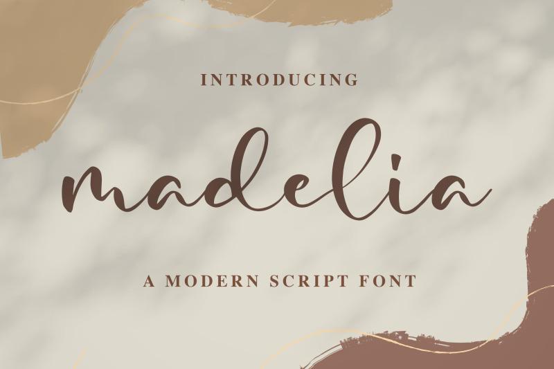 madelia-modern-script-font