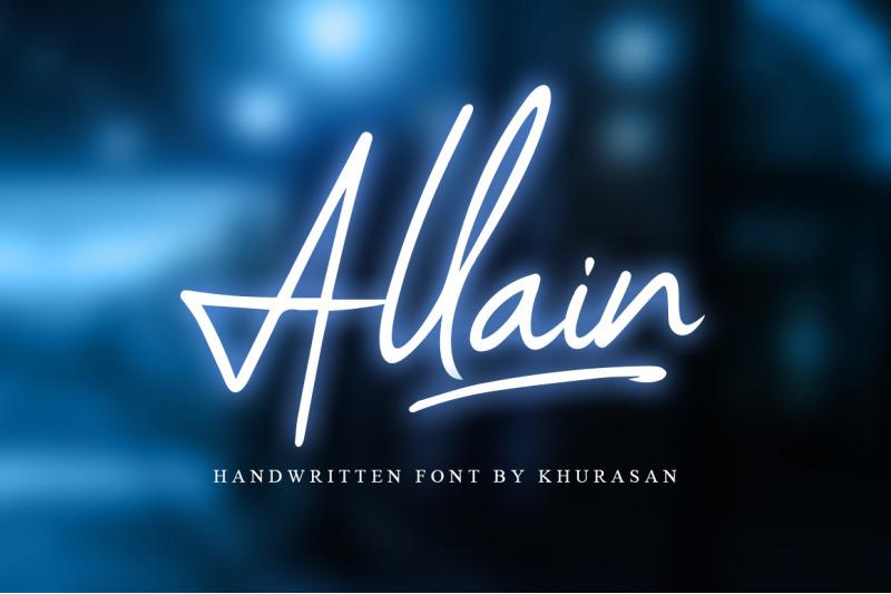 allain-signature-script
