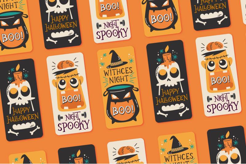 ghostober-halloween-layered-font