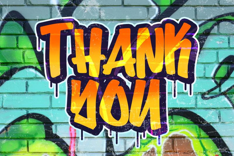 bombsky-graffity-font