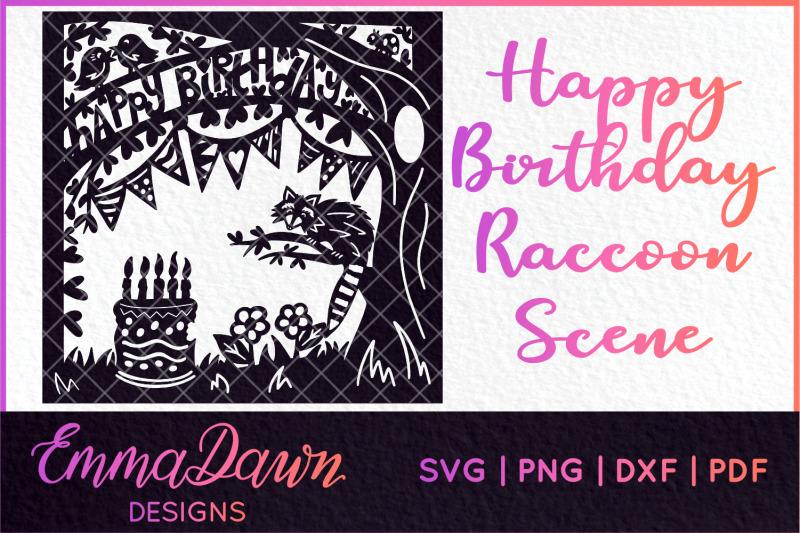 happy-birthday-raccoon-scene-design-svg-dxf-png-pdf-fcm