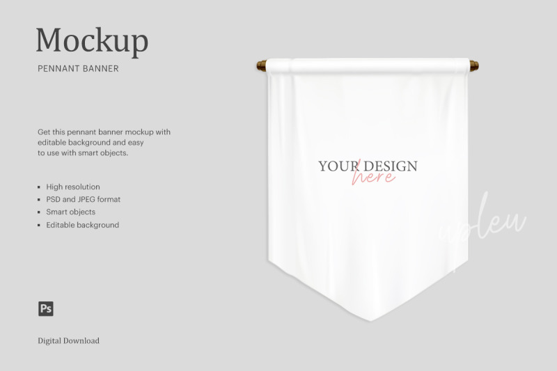 Download Banner Flag Mockup Free Yellowimages