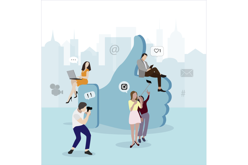 social-media-network-concept-symbol-like-and-people