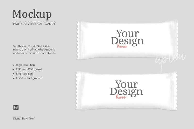 Download Candy Wrapper Mockup | Compatible With Affinity Designer Free Mockups