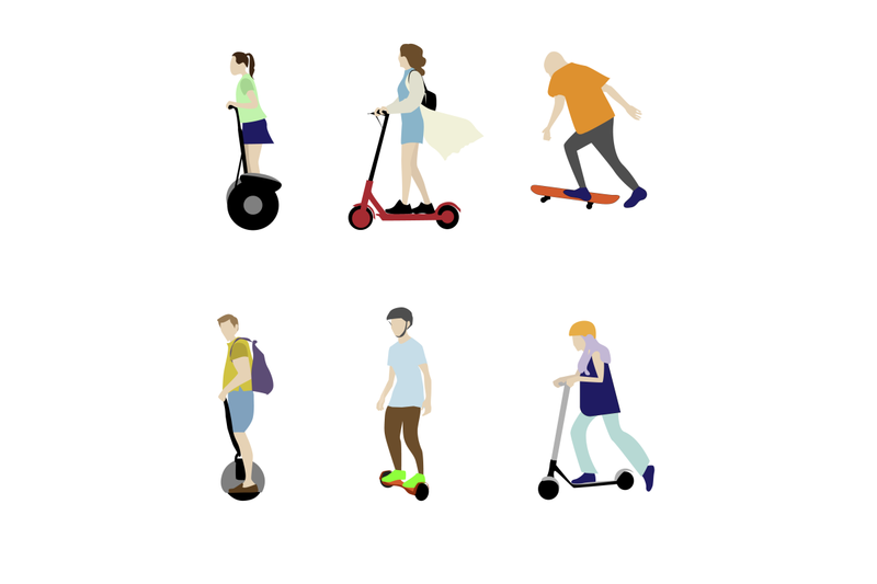 scooter-hoverboard-and-skate-individual-electric-transport