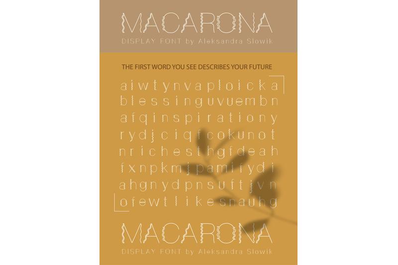 macarona-font