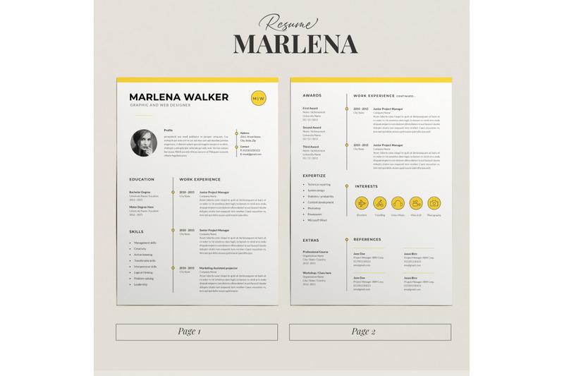 resume-cv-template