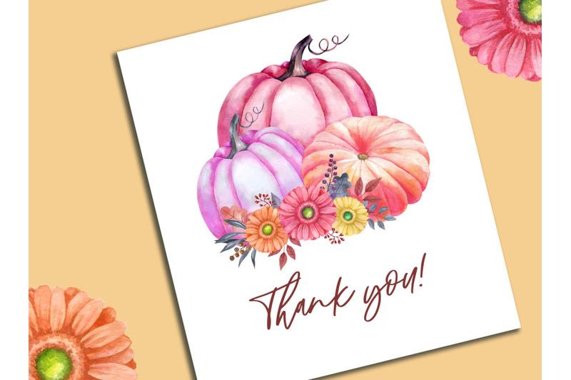 watercolor-pumpkin-clipart-thanksgiving-day-clip-art-flowers-pink