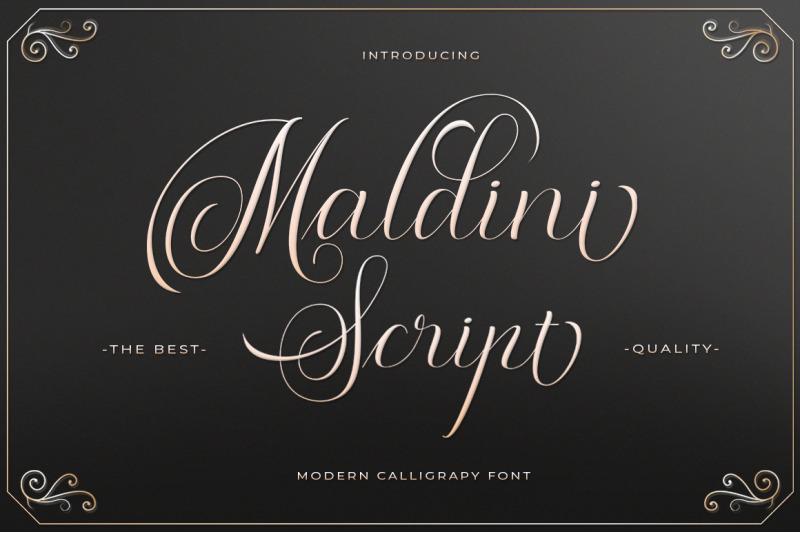 maldini-script-font