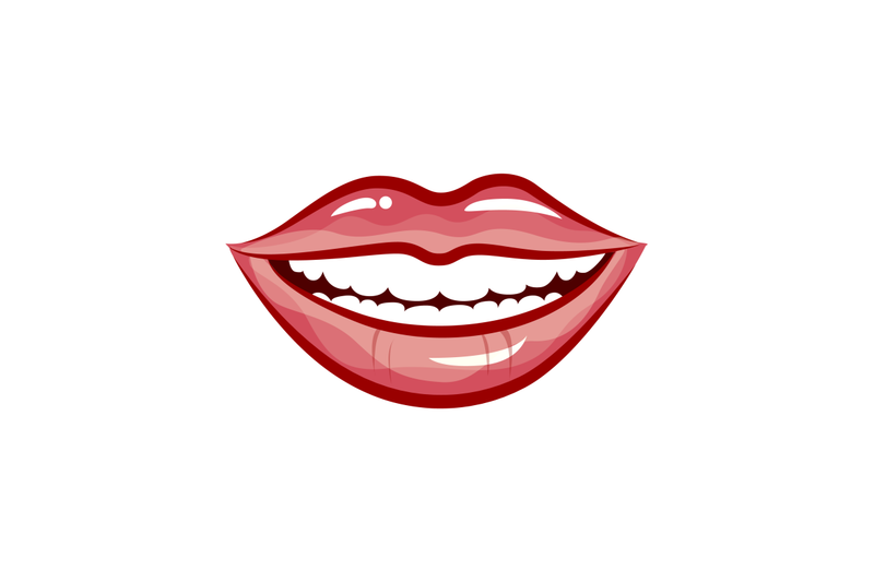 woman-smile-isolated-in-white-background-vector-beautiful