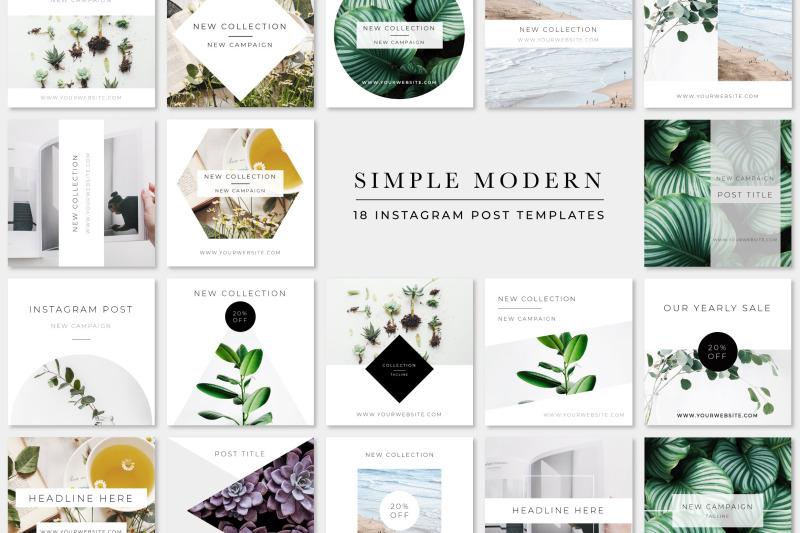 simple-modern-instagram-pack