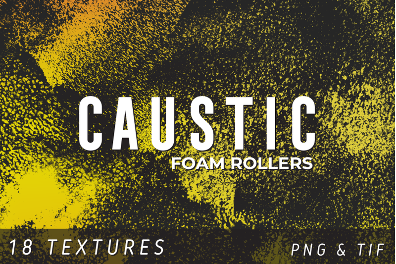 caustic-foam-roller-texture-pack