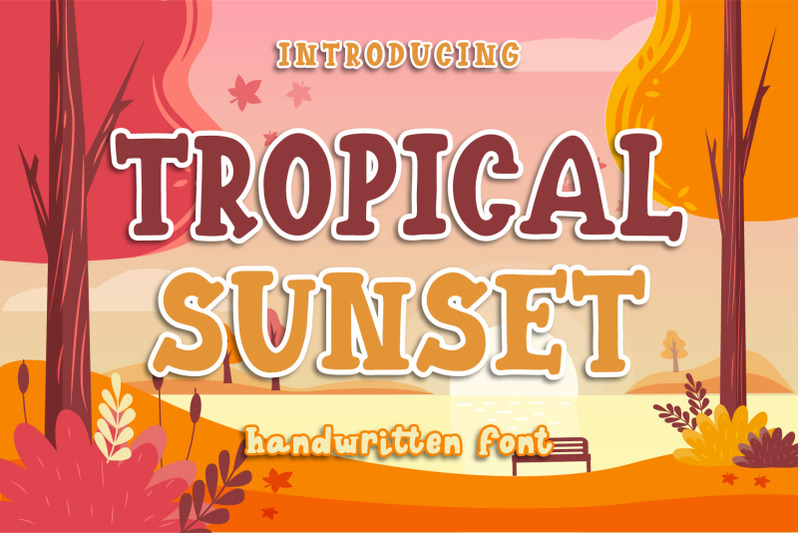 tropical-sunset