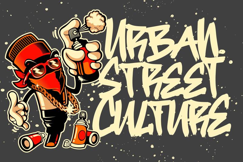 street-hipster-graffiti-font