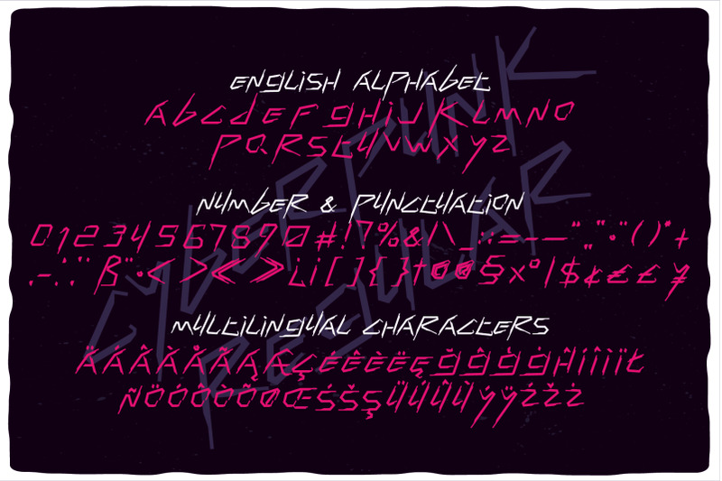 cyberpunk-font-duo