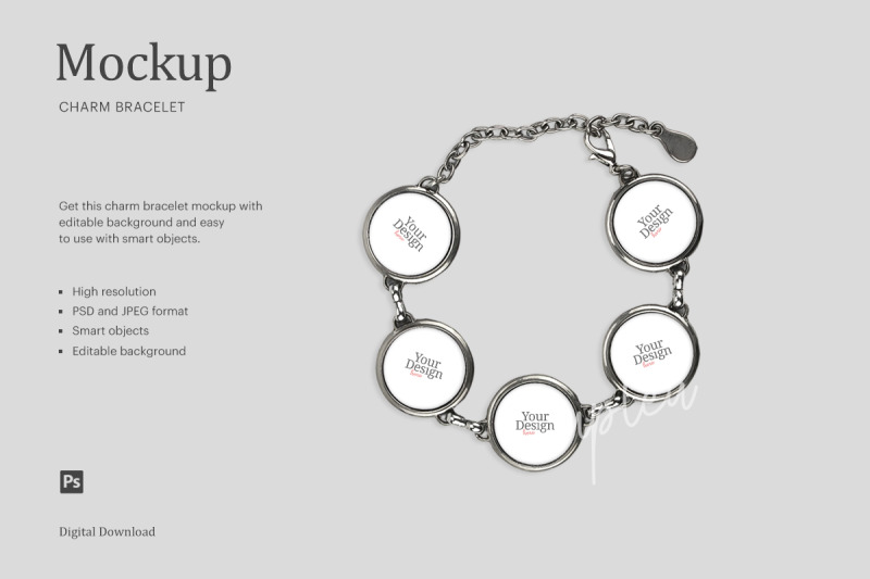 Download Bracelet Mockup Free Psd Yellowimages