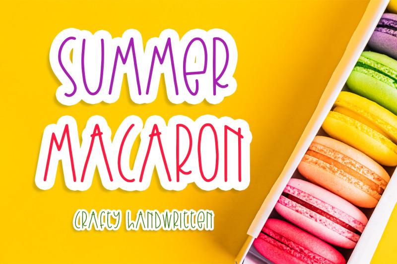 summer-macaron