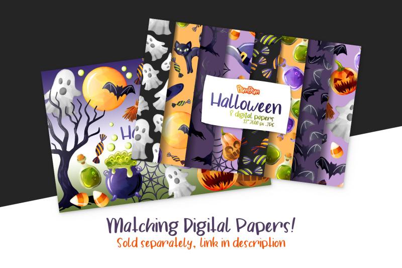 halloween-watercolor-cliparts