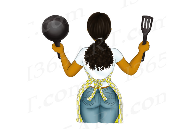 black-cooking-girl-clipart-black-woman-clipart