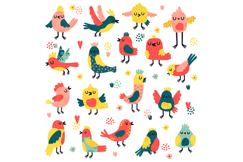 doodle-birds-cute-hand-drawn-birds-doodle-colorful-avifauna-lovely