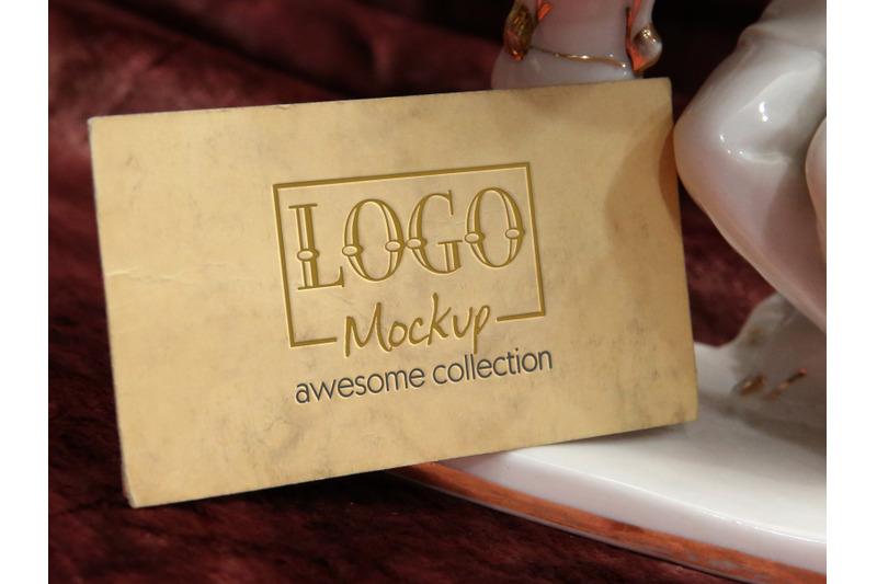logo-mockup-with-porcelain-figurine