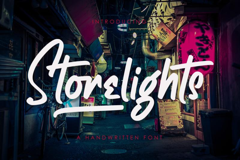 storelights