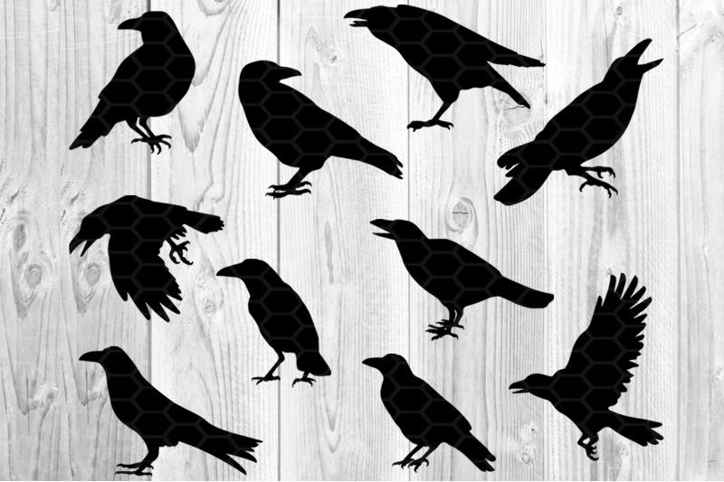 halloween-crow-svg-silhouette-clip-art