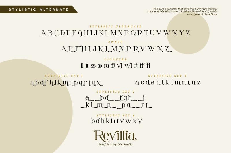 revillia-casual-serif-font